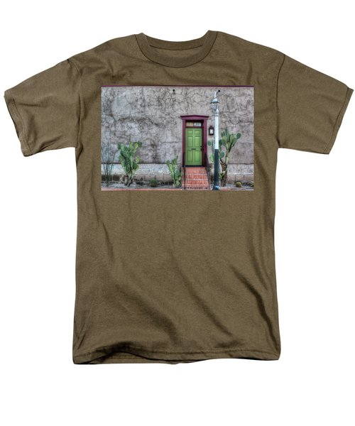 Men's T-Shirt  (Regular Fit) featuring the photograph The Green Door by Lynn Geoffroy