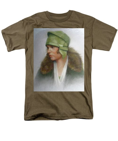 The Green Hat Men's T-Shirt  (Regular Fit) by Janet McGrath