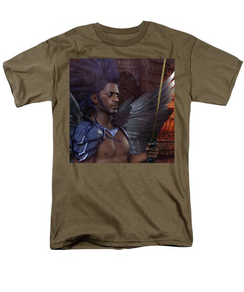 The Guardian 3 Men's T-Shirt  (Regular Fit) by Suzanne Silvir
