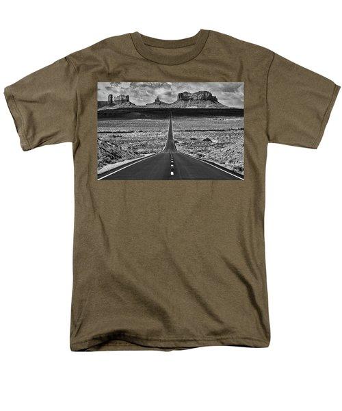 The Gump Stops Here Men's T-Shirt  (Regular Fit) by Darren White