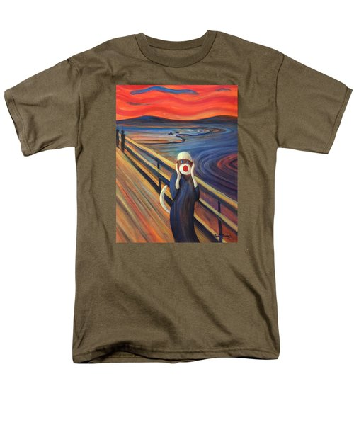 Men's T-Shirt  (Regular Fit) featuring the painting The Holler by Randol Burns