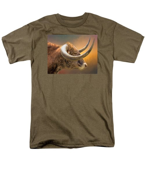 The Horns Men's T-Shirt  (Regular Fit) by David and Carol Kelly
