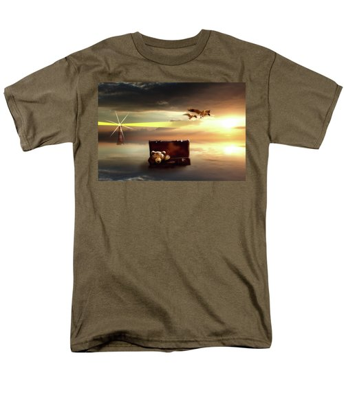 The Journey Begins  Men's T-Shirt  (Regular Fit) by Nathan Wright