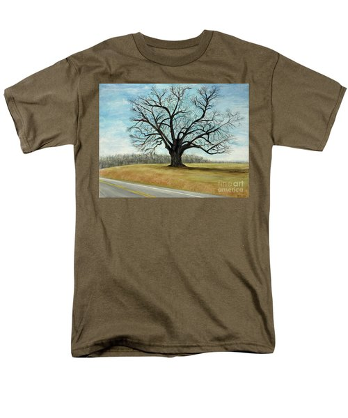 The Keeler Oak Men's T-Shirt  (Regular Fit) by Lyric Lucas