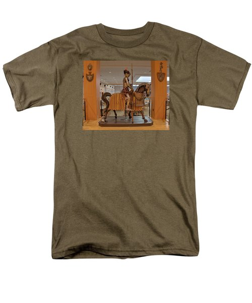 The Knight On Horseback Men's T-Shirt  (Regular Fit) by Mark Dodd