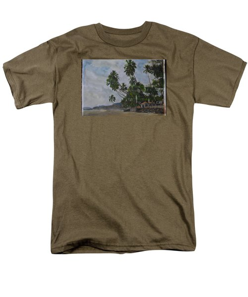 The Konkan Coastline Men's T-Shirt  (Regular Fit) by Vikram Singh
