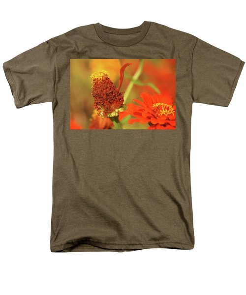 Men's T-Shirt  (Regular Fit) featuring the photograph The Last Petal by Donna G Smith