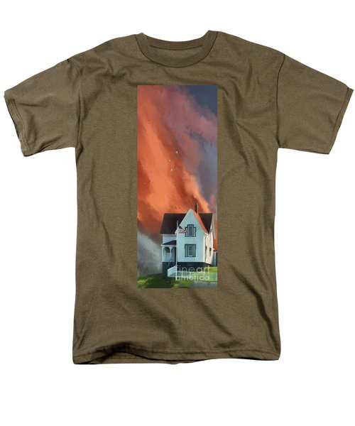 The Lighthouse Keeper's House Men's T-Shirt  (Regular Fit) by Lois Bryan