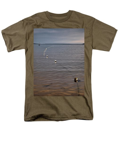 Men's T-Shirt  (Regular Fit) featuring the photograph The Line by Jouko Lehto