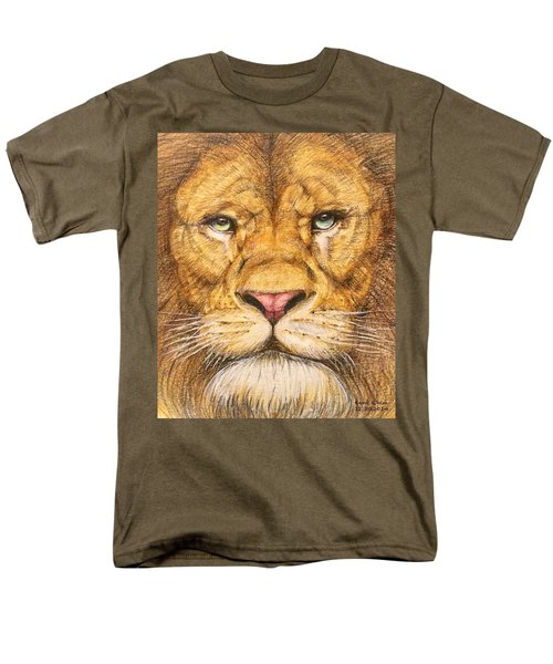 The Lion Roar Of Freedom Men's T-Shirt  (Regular Fit) by Kent Chua