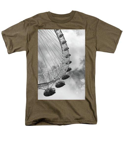 The London Eye, London, England Men's T-Shirt  (Regular Fit) by Richard Goodrich