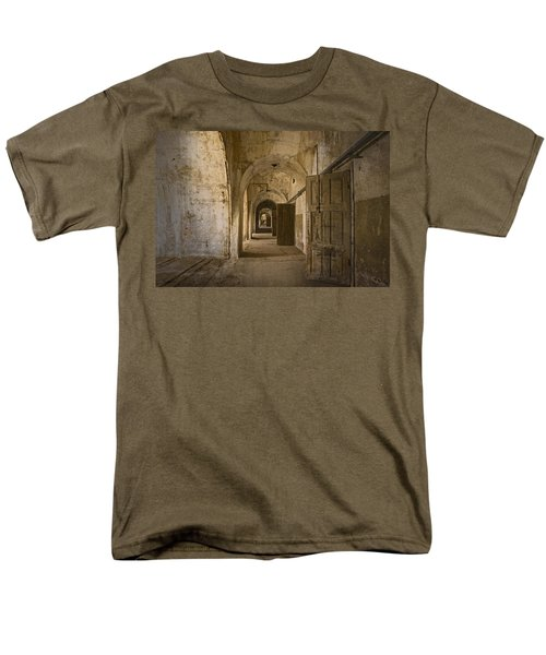 The Long Hall Men's T-Shirt  (Regular Fit) by Inge Riis McDonald
