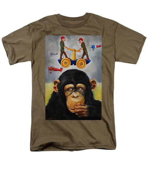 The Magnificent Flying Strauss Men's T-Shirt  (Regular Fit) by Jean Cormier