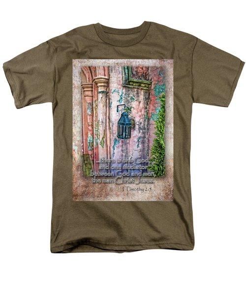The Mediator Men's T-Shirt  (Regular Fit) by Larry Bishop