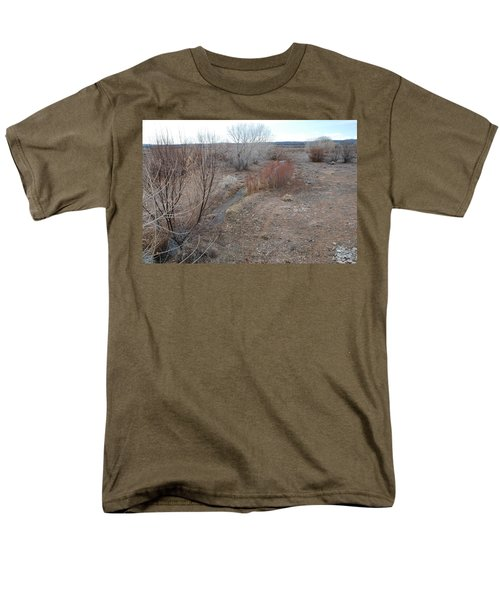 Men's T-Shirt  (Regular Fit) featuring the photograph The Mighty Santa Fe River by Rob Hans