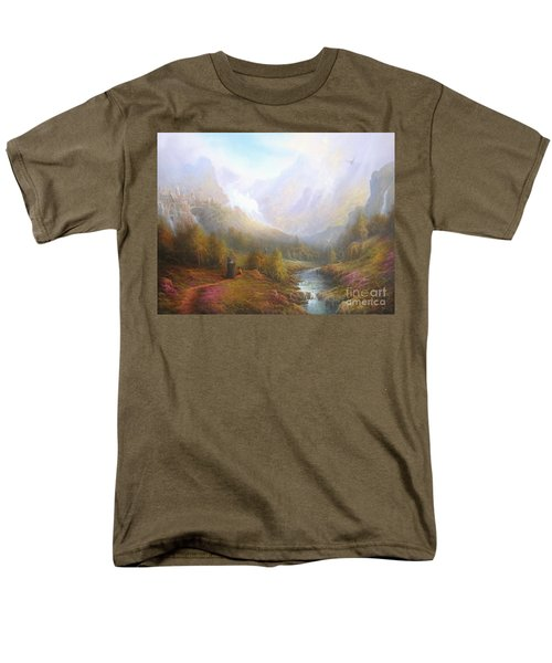 The Misty Mountains Men's T-Shirt  (Regular Fit) by Joe  Gilronan
