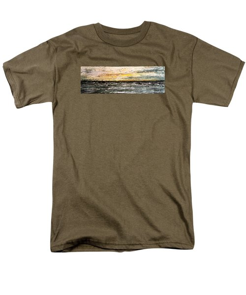 Men's T-Shirt  (Regular Fit) featuring the painting The Moment 3 by Shabnam Nassir