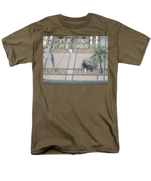 Men's T-Shirt  (Regular Fit) featuring the photograph The Money Is Here But Where Are All The People Besides These Two by Marie Neder