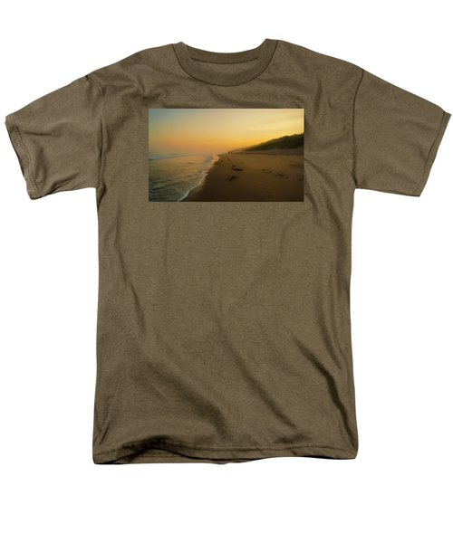 Men's T-Shirt  (Regular Fit) featuring the photograph The Morning Walk by Roy McPeak