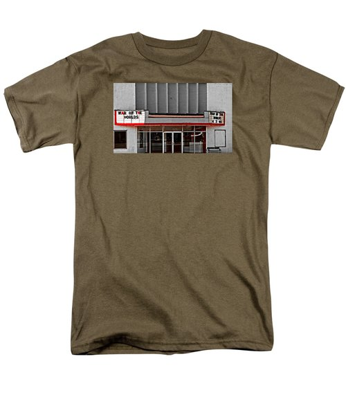 Men's T-Shirt  (Regular Fit) featuring the photograph The Movie Theater by Bob Pardue