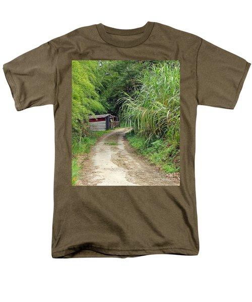 The Old Forest Road Men's T-Shirt  (Regular Fit)