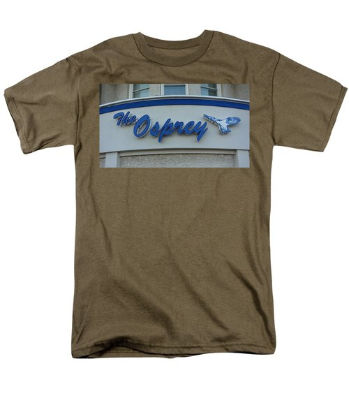 The Osprey Marqee Men's T-Shirt  (Regular Fit) by Melinda Saminski