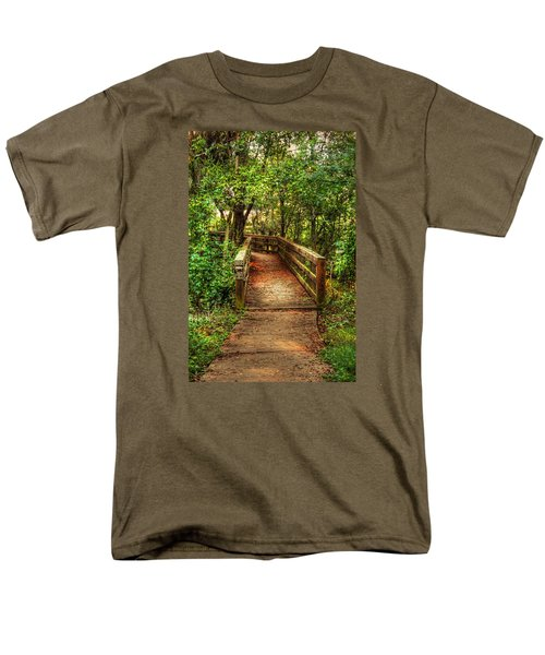 The Pathway Men's T-Shirt  (Regular Fit) by Ester  Rogers