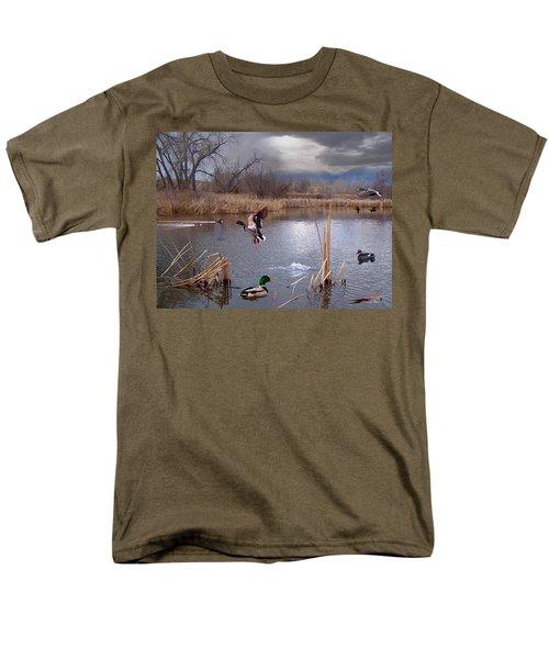 The Pond Men's T-Shirt  (Regular Fit) by Bill Stephens
