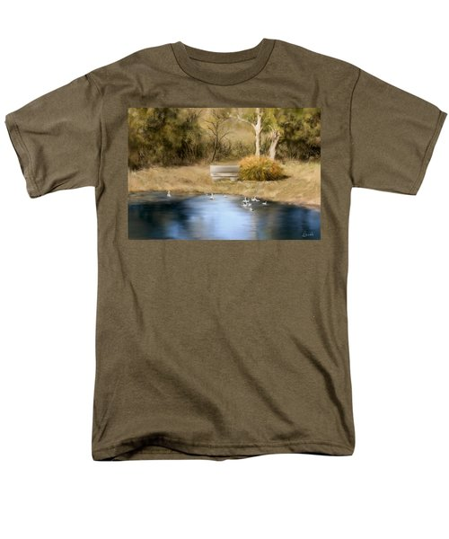 The Pond Men's T-Shirt  (Regular Fit) by Bonnie Willis