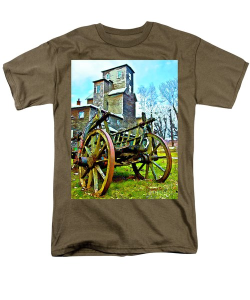 Men's T-Shirt  (Regular Fit) featuring the photograph The Pottery - Bennington, Vt by Tom Cameron