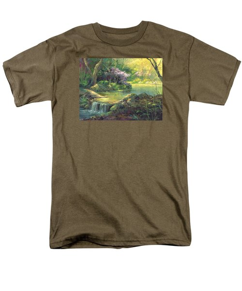 The Quiet Creek Men's T-Shirt  (Regular Fit) by Michael Humphries