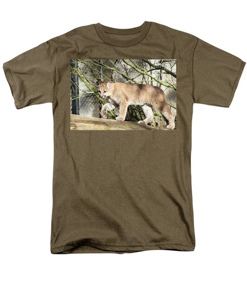 Men's T-Shirt  (Regular Fit) featuring the photograph The Red Carpet by Laddie Halupa