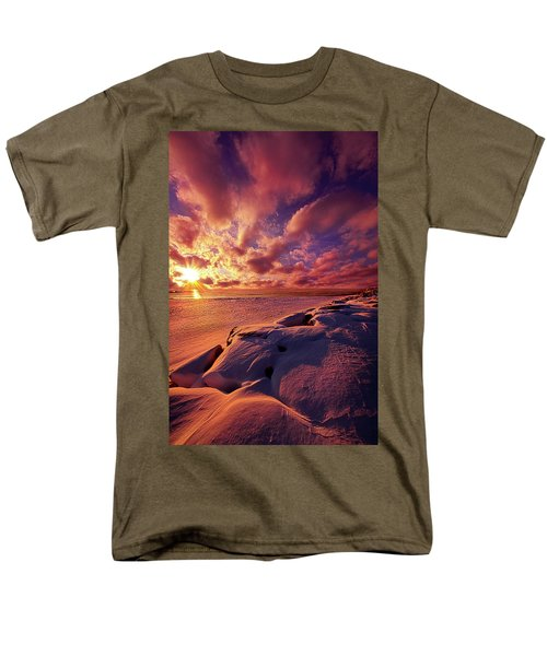 Men's T-Shirt  (Regular Fit) featuring the photograph The Return by Phil Koch
