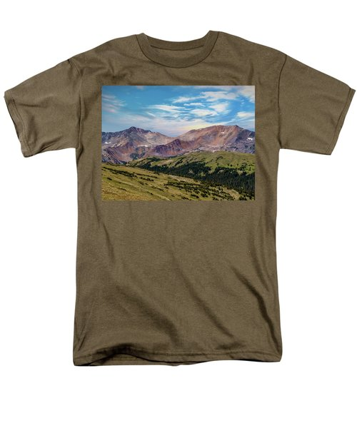 Men's T-Shirt  (Regular Fit) featuring the photograph The Rockies by Bill Gallagher
