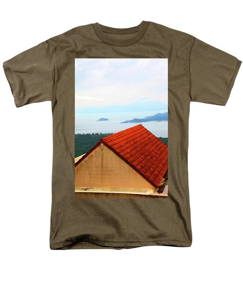 The Roof Be Told Men's T-Shirt  (Regular Fit) by Jez C Self