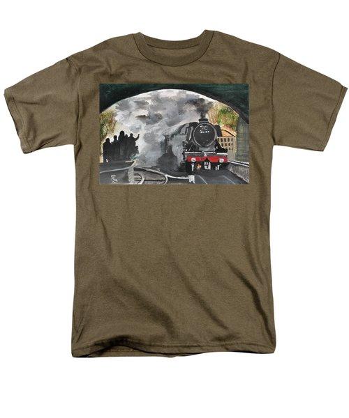 The Scotsman Men's T-Shirt  (Regular Fit) by Carole Robins