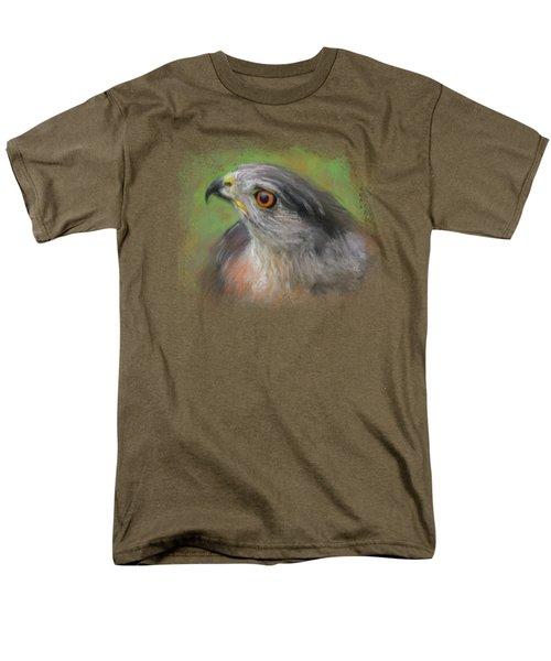 The Sharp Shinned Hawk Men's T-Shirt  (Regular Fit) by Jai Johnson