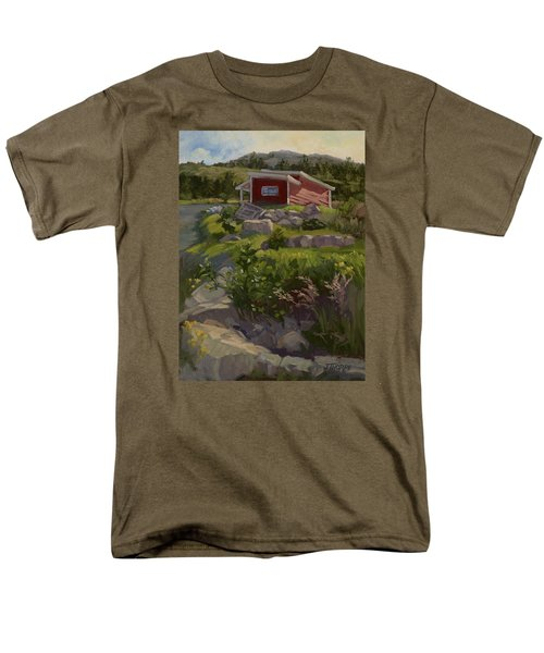 The Shed Men's T-Shirt  (Regular Fit) by Jane Thorpe