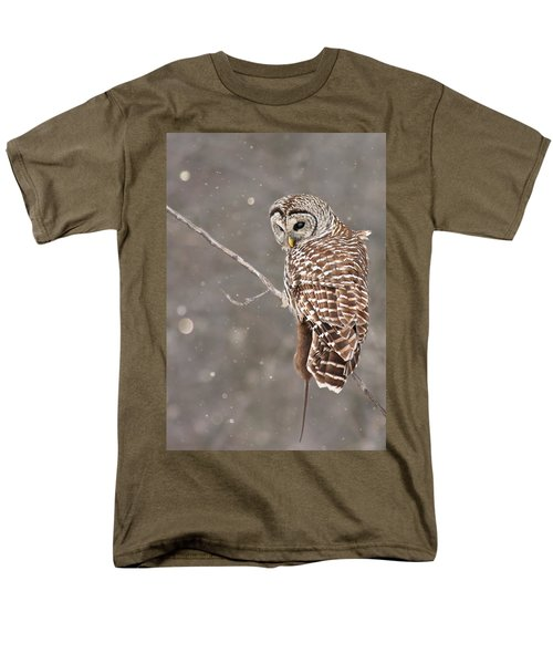 The Silent Hunter Men's T-Shirt  (Regular Fit) by Mircea Costina Photography