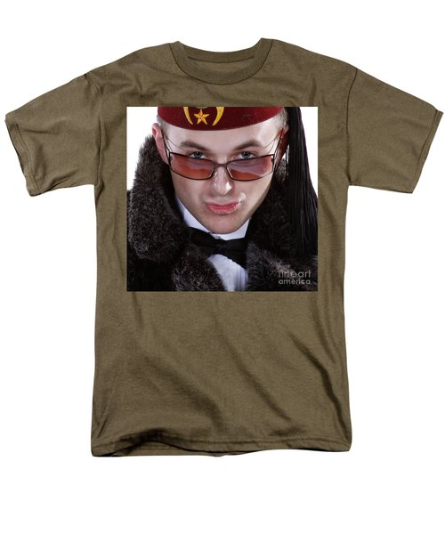 The Smarmy Russian Men's T-Shirt  (Regular Fit)
