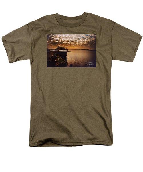 The Spartan Men's T-Shirt  (Regular Fit) by Randall  Cogle