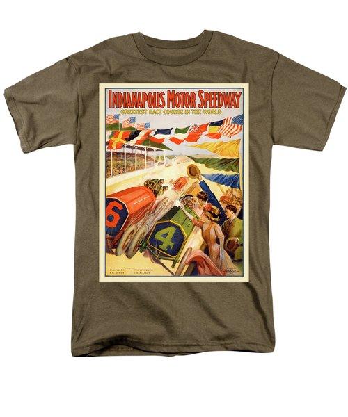 The Speedway Men's T-Shirt  (Regular Fit)