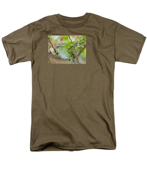 Men's T-Shirt  (Regular Fit) featuring the photograph The Spotted Tanager by Judy Kay