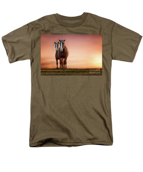 The Stallion And The Mare Men's T-Shirt  (Regular Fit) by Tamyra Ayles