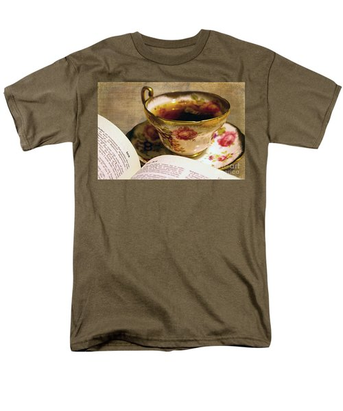 The Story Of Tea Men's T-Shirt  (Regular Fit) by Nina Silver