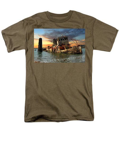 The Sunset Years Of The Mary D. Hume Men's T-Shirt  (Regular Fit) by James Eddy