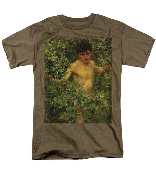 The Swimmer Men's T-Shirt  (Regular Fit) by Henry Scott Tuke
