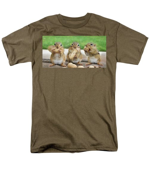 The Three Stooges Men's T-Shirt  (Regular Fit) by Lori Deiter