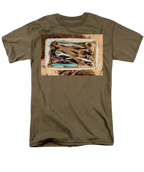 Men's T-Shirt  (Regular Fit) featuring the photograph The Toolbox by Christopher Holmes