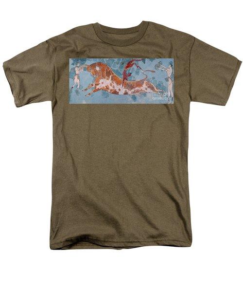 The Toreador Fresco, Knossos Palace, Crete Men's T-Shirt  (Regular Fit) by Greek School